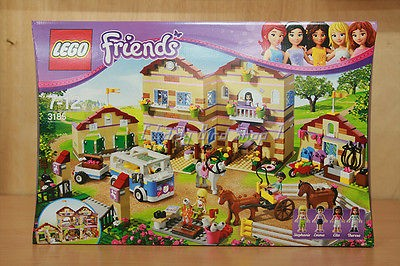 Lego 3185 Friends Summer Riding Camp (MISB / Mint in Sealed Box) with