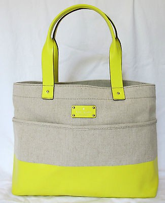 NWT NEW Authentic Kate Spade Shady Side Magazine Tote Shoulder Purse