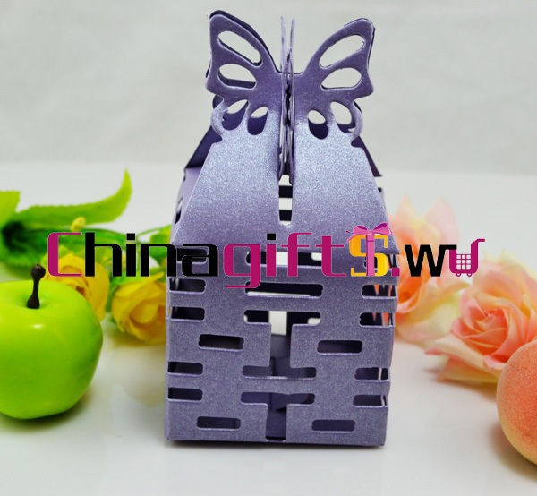 multi color&quantities double happiness box wedding favor/candy boxes