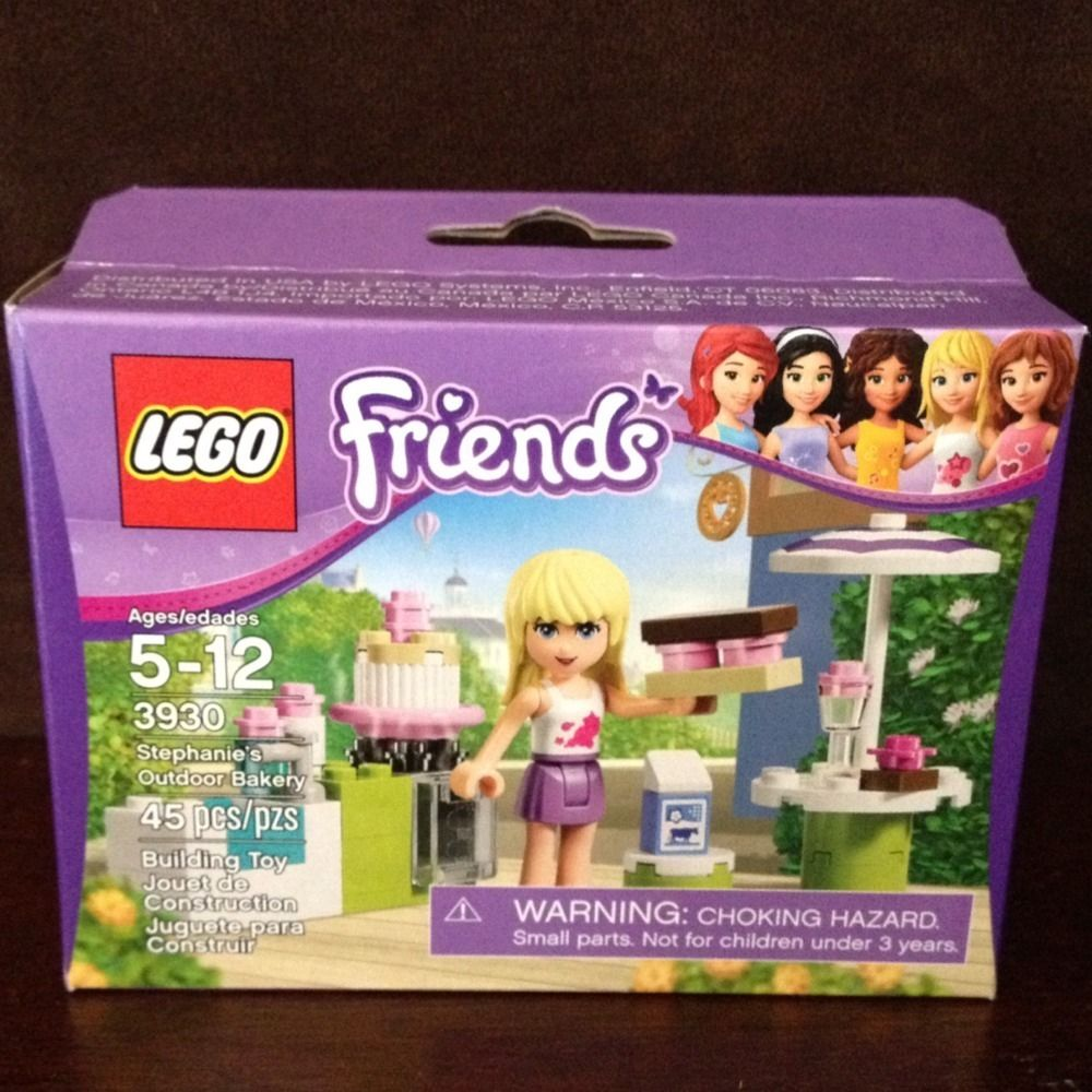 Lego Friends Stephanies Outdoor Bakery Set Brand New