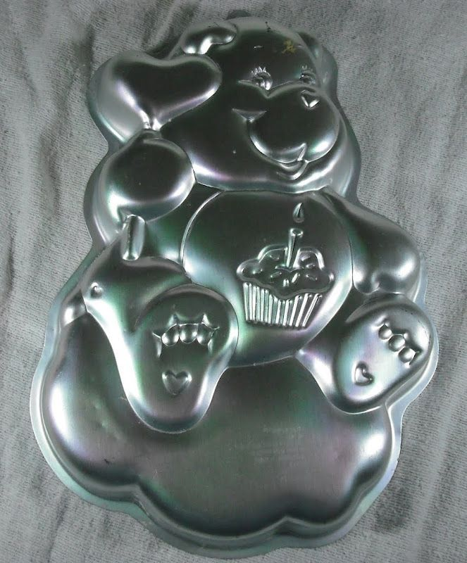 1983 Birthday Care Bear Wilton Cake Pan Mold 2105 1793