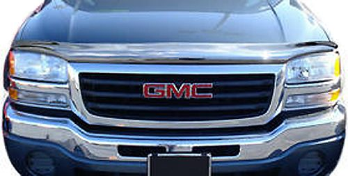 99 06 Chevy Silverado GMC Sierra Chrome Bug Deflector
