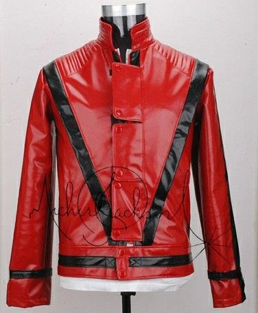 Michael Jackson Thriller Jacket Billie Jean Glove Cards