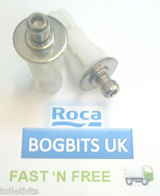 ROCA REMOVABLE SEAT TOP FIX PEG TOILET SEAT HINGE FIXING KIT SET ONLY