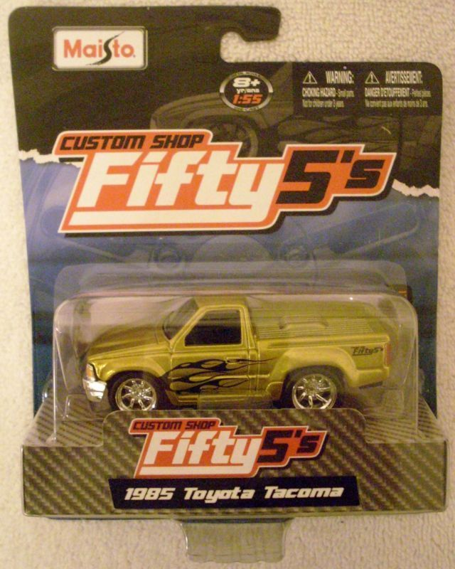 1985 TOYOTA TACOMA P/U MAISTO CUSTOM SHOP FIFTY5S 1/55