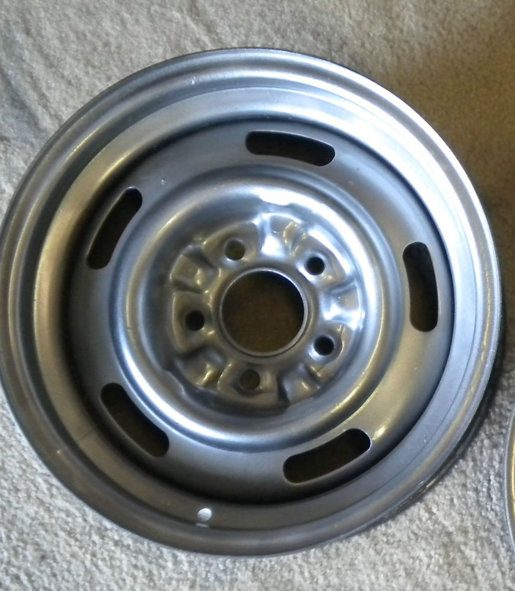 GM Chevy Steel Rally Wheel Camaro Nova Chevelle Corvette Impala Elky